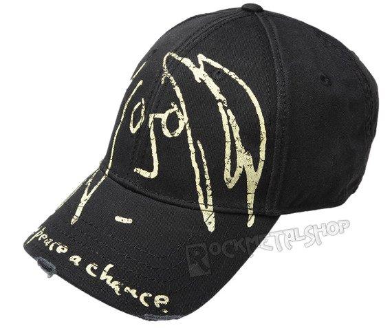 czapka JOHN LENNON - GIVE PEACE A CHANSE