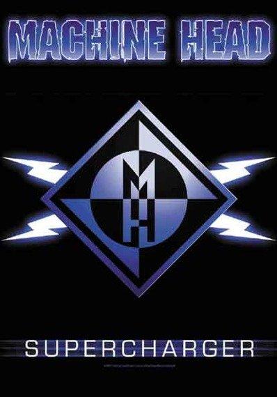 """flaga MACHINE HEAD """"SUPERCHARGER"""""""
