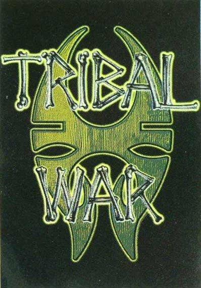 "flaga Soulfly ""Tribal War"""