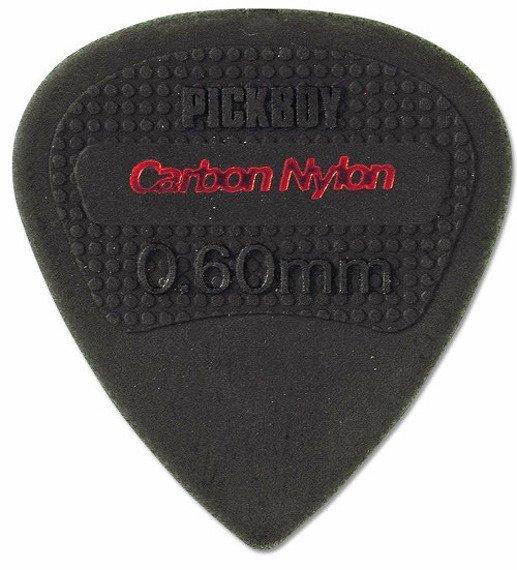 kostka gitarowa PICKBOY EDGE, SHARP TIP Carbon Nylon 0,60mm