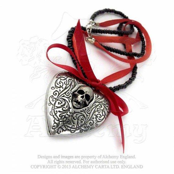naszyjnik THE RELIQUARY HEART LOCKET