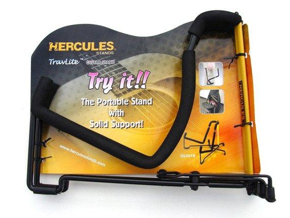 statyw gitarowy HERCULES GS301B do gitary akustycznej