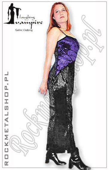 suknia LISA purpurowa [GT315] Laughing Vampire