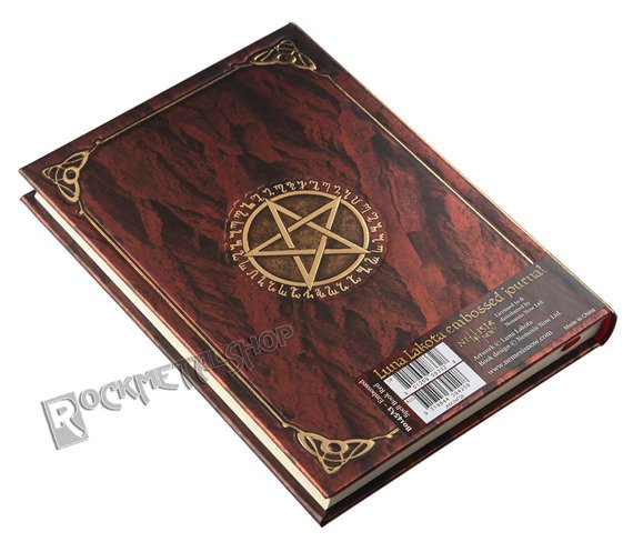zeszyt/pamiętnik BOOK OF SHADOWS RED