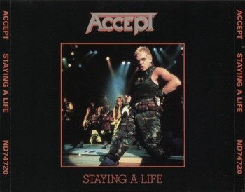 ACCEPT: STAYING A LIFE JAPAN 1985(CD)