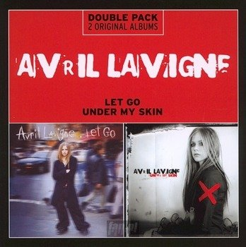 AVRIL LAVIGNE: LET GO / UNDER MY SKIN (CD)