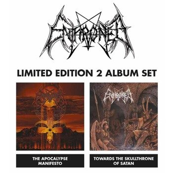 ENTHRONED: TOWARDS THE SKULL THRONE OF SATAN + THWE APOCALYPSE MANIFESTO -  SET (2xLP VINYL)