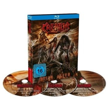 KREATOR: DYING ALIVE  (BLURAY+2CD)