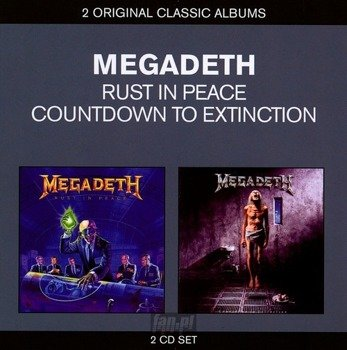 MEGADETH: RUST IN PEACE / COUNTDOWN TO EXTINCTION (2CD)