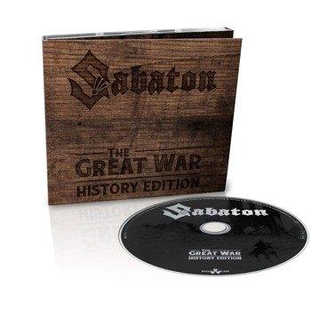 SABATON: THE GREAT WAR (CD) HISTORY EDITION DIGIPACK