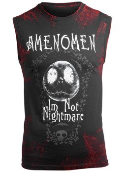 bezrękawnik AMENOMEN - I'M NOT NIGHTMARE (OMEN073BR ALLPRINT RED)