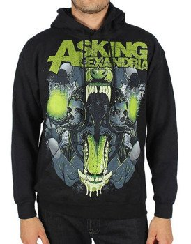 bluza ASKING ALEXANDRIA - TEETH, kangurka z kapturem
