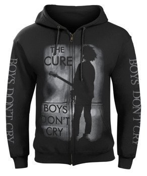 bluza THE CURE - BOYS DON'T CRY rozpinana, z kapturem
