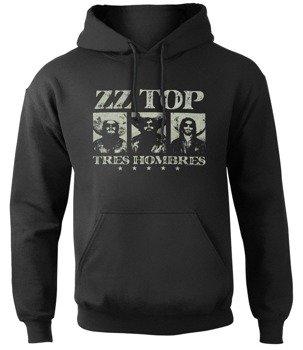 bluza ZZ TOP - TRES HOMBRES, kangurka z kapturem