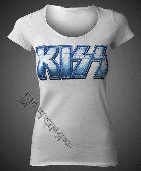 bluzka damska KISS - DISTRESSED WHITE