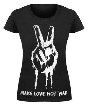 bluzka damska MAKE LOVE NOT WAR