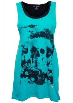 bluzka damska METAL MULISHA - VICIOUS niebieska