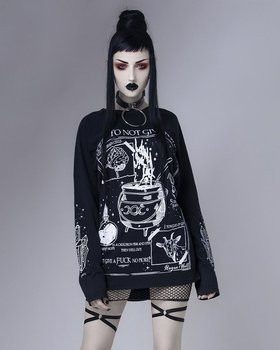 bluzka damska ROGUE - A SPELL TO NOT GIVE...., longsleeve