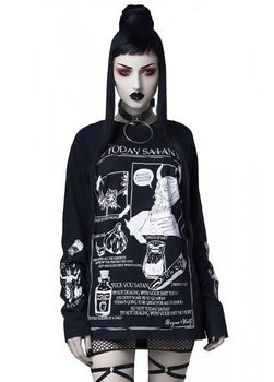 bluzka damska ROGUE - NOT TODAY SATAN, longsleeve