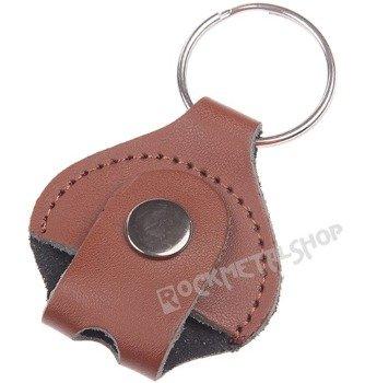brelok na klucz do perkusji GAUCHO skórzany / brązowy