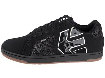buty METAL MULISHA - ETNIES FADER 2 BLACK GREY WHITE