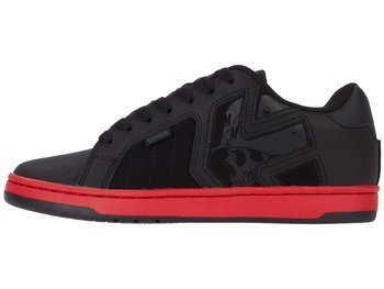 buty METAL MULISHA - ETNIES FADER 2 BLACK RED BLACK
