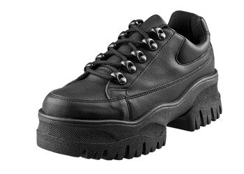 buty damskie ALTERCORE czarne (POSH BLACK PU)