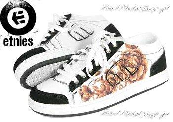 buty damskie Etnies -Lo-Pro-Baller  White/Brown
