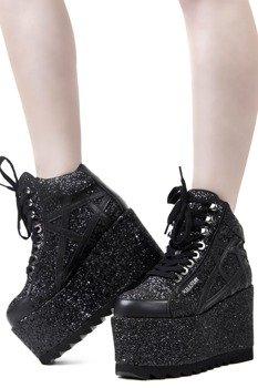 buty damskie na koturnie KILLSTAR - MALICE