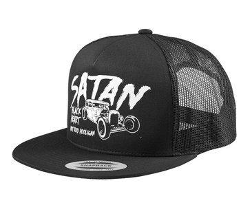 czapka BLACK HEART - SATAN