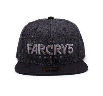 czapka FAR CRY 5 - BLACK DENIM LOGO