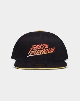 czapka FAST & FURIOUS - GRADIENT LOGO - SNAPBACK CAP