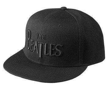 czapka THE BEATLES - DROP T LOGO BLACK