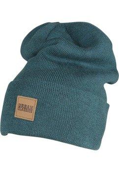 czapka zimowa LEATHERPATCH LONG BEANIE jasper
