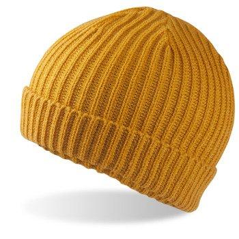 czapka zimowa MUSTARD