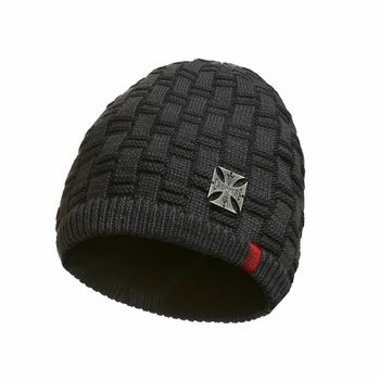 czapka zimowa WEST COAST CHOPPERS - METAL PATCH BEANIE GREY