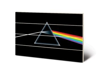 dekoracja/obraz na drewnie PINK FLOYD (DARK SIDE OF THE MOON)