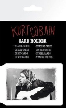 etui na kartę kredytową KURT COBAIN - SMOKING