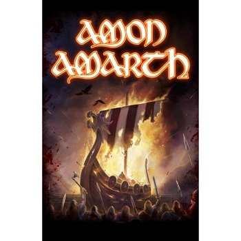 flaga AMON AMARTH - 1000 BURNING ARROWS