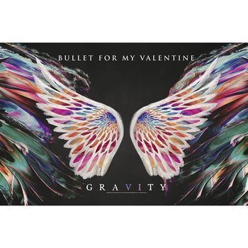 flaga BULLET FOR MY VALENTINE - GRAVITY