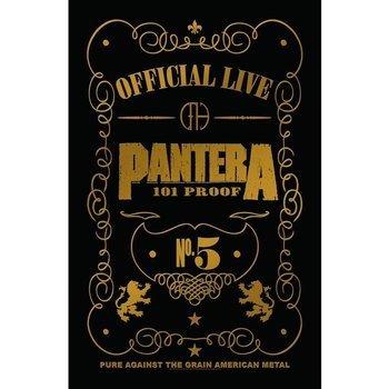 flaga PANTERA - 101 PROOF