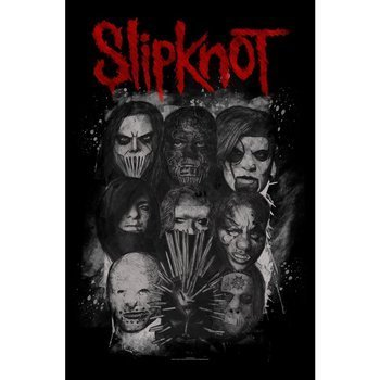 flaga SLIPKNOT - MASKS