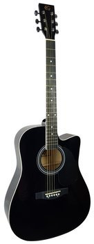 gitara akustyczna KG CX S030C BK Cutaway Black