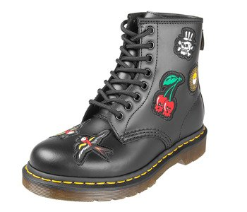 glany DR. MARTENS - DM 1460 PATH BLACK SMOOTH (DM24436001)