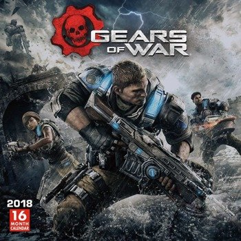 kalendarz GEARS OF WAR 2018