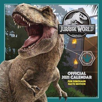 kalendarz JURASSIC WORLD 2021