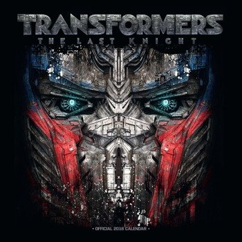 kalendarz TRANSFORMERS THE LAST KNIGHT 2018