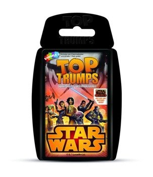 karty STAR WARS - REBELS TOP TRUMPS