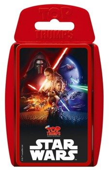 karty do gry STAR WARS - EPISODE VII TOP TRUMPS, German Version