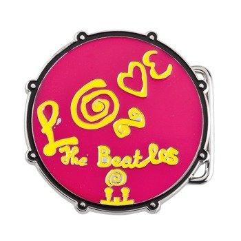 klamra do pasa THE BEATLES - LOVE DRUM